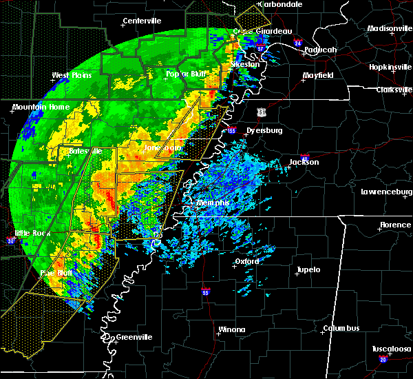 Radar Image for Severe Thunderstorms near Hughes, AR at 1/11/2020 2:12 AM CST