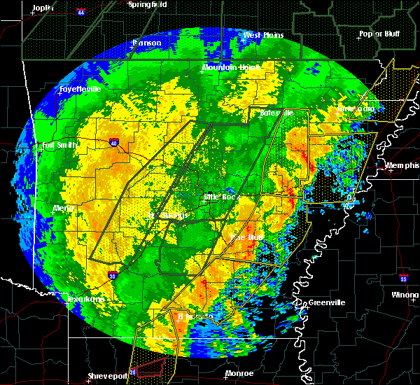 Radar Image for Severe Thunderstorms near Holly Grove, AR at 1/11/2020 2:18 AM CST