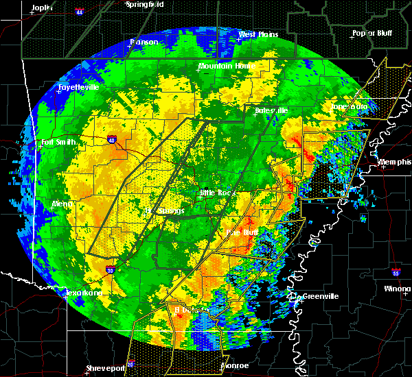 Radar Image for Severe Thunderstorms near Altheimer, AR at 1/11/2020 2:21 AM CST
