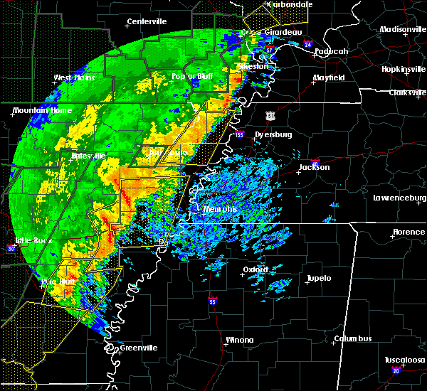 Radar Image for Severe Thunderstorms near Hughes, AR at 1/11/2020 2:26 AM CST