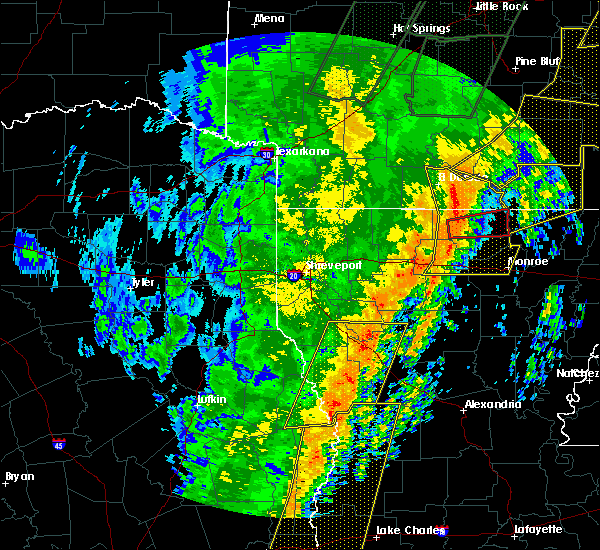 Radar Image for Severe Thunderstorms near Marion, LA at 1/11/2020 2:37 AM CST