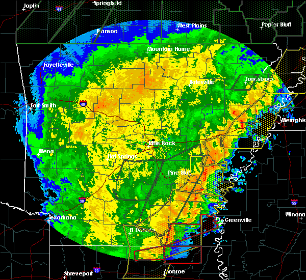 Radar Image for Severe Thunderstorms near Holly Grove, AR at 1/11/2020 3:03 AM CST