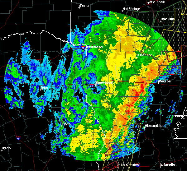 Radar Image for Severe Thunderstorms near Mer Rouge, LA at 1/11/2020 3:18 AM CST