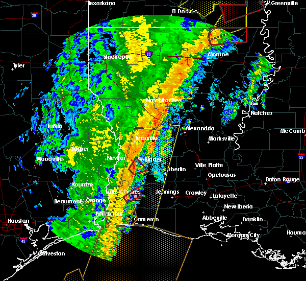 Radar Image for Severe Thunderstorms near Claiborne, LA at 1/11/2020 3:27 AM CST