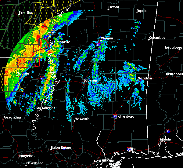 Radar Image for Severe Thunderstorms near Epps, LA at 1/11/2020 3:36 AM CST