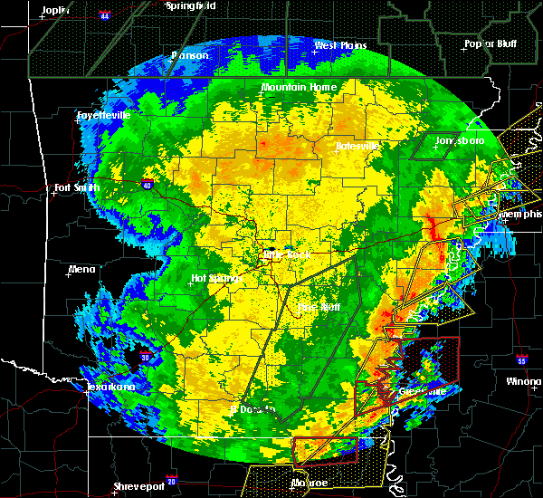 Radar Image for Severe Thunderstorms near Alligator, MS at 1/11/2020 3:46 AM CST