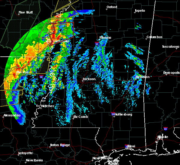 Radar Image for Severe Thunderstorms near Epps, LA at 1/11/2020 4:01 AM CST