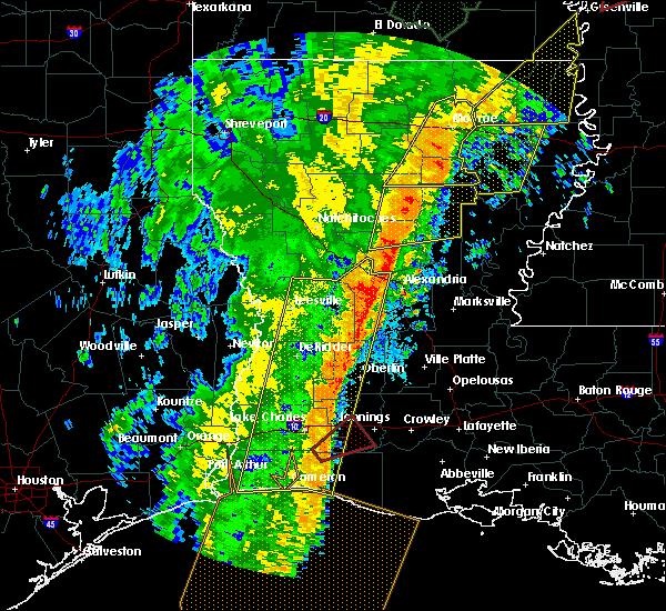 Radar Image for Severe Thunderstorms near Start, LA at 1/11/2020 4:16 AM CST
