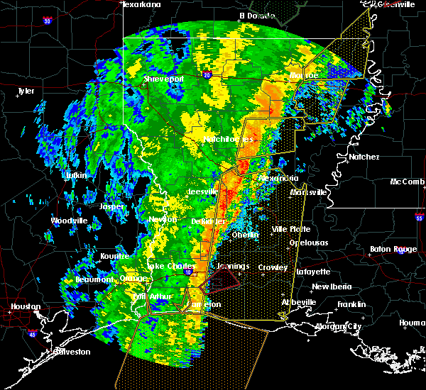 Radar Image for Severe Thunderstorms near Ville Platte, LA at 1/11/2020 4:20 AM CST