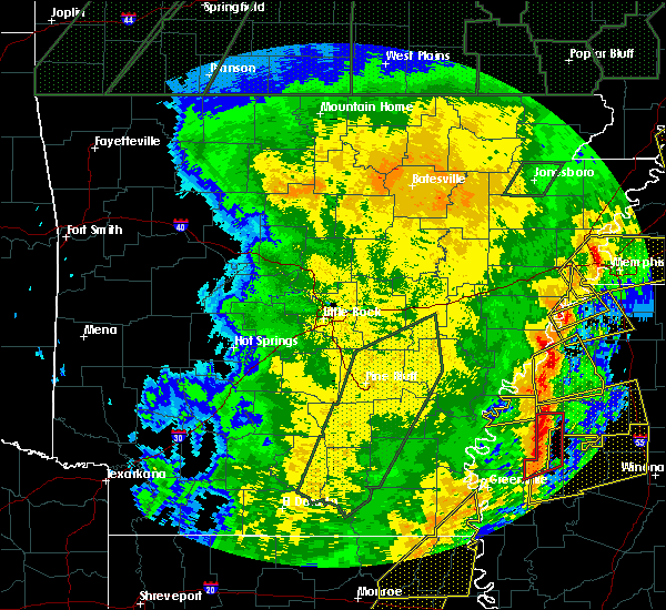 Radar Image for Severe Thunderstorms near Alligator, MS at 1/11/2020 4:24 AM CST