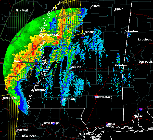 Radar Image for Severe Thunderstorms near Epps, LA at 1/11/2020 4:33 AM CST