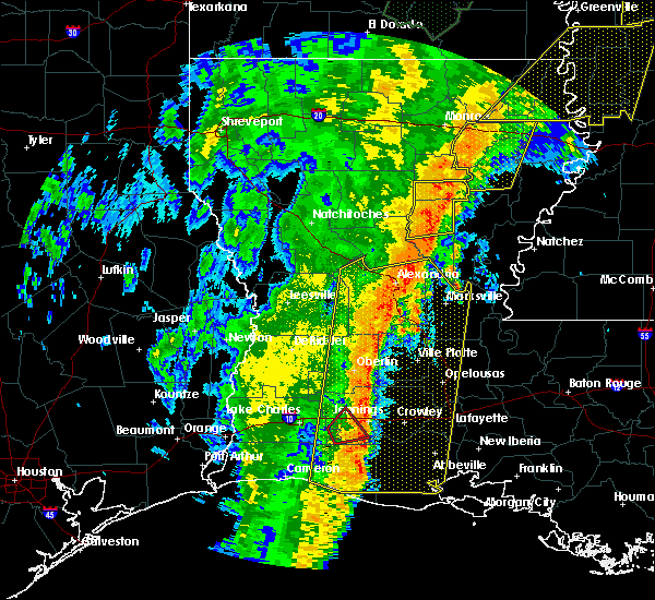 Radar Image for Severe Thunderstorms near Midway, LA at 1/11/2020 4:45 AM CST