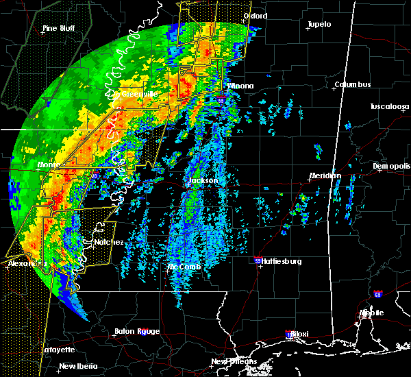Radar Image for Severe Thunderstorms near Epps, LA at 1/11/2020 5:04 AM CST