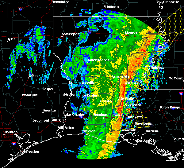 Radar Image for Severe Thunderstorms near Milton, LA at 1/11/2020 5:42 AM CST