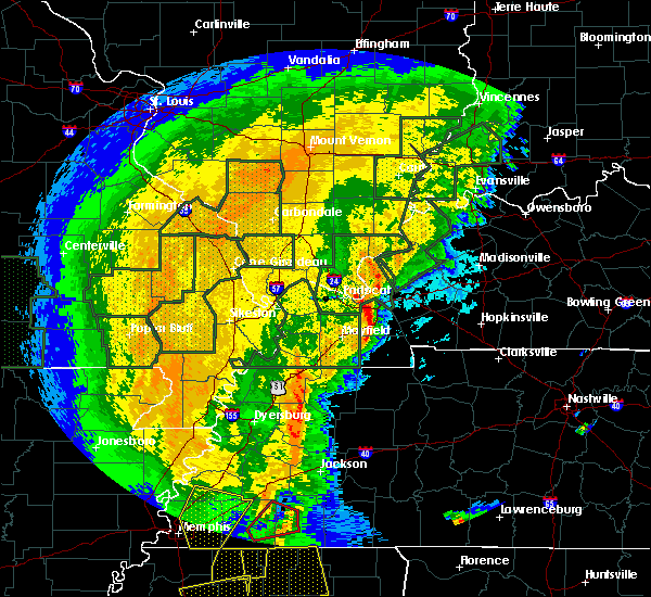 Radar Image for Severe Thunderstorms near Grand Rivers, KY at 1/11/2020 5:46 AM CST