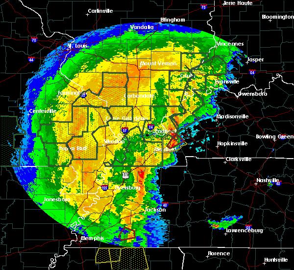 Radar Image for Severe Thunderstorms near Grand Rivers, KY at 1/11/2020 5:58 AM CST
