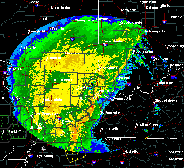 Radar Image for Severe Thunderstorms near Robards, KY at 1/11/2020 6:45 AM CST