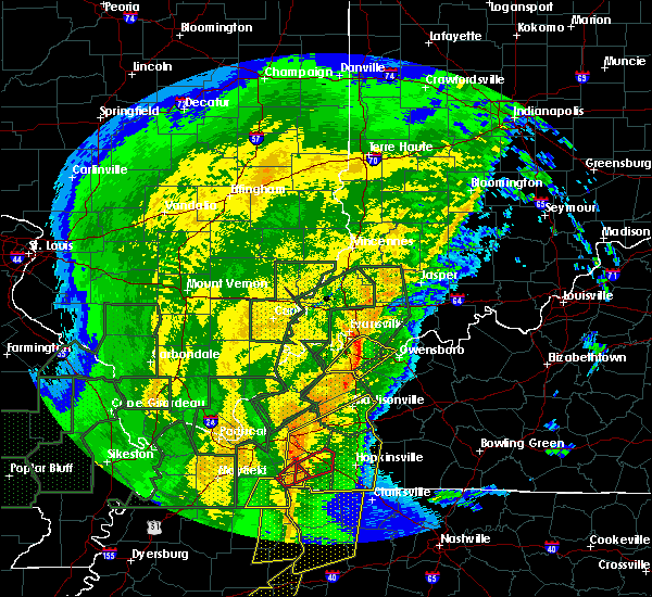Radar Image for Severe Thunderstorms near Henderson, KY at 1/11/2020 7:07 AM CST