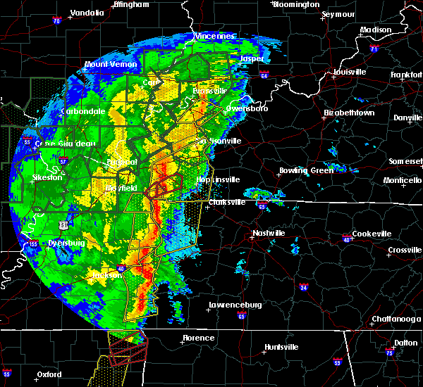 Radar Image for Severe Thunderstorms near Linden, TN at 1/11/2020 7:12 AM CST