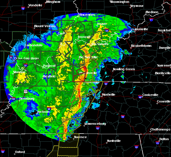 Radar Image for Severe Thunderstorms near Hartford, KY at 1/11/2020 8:00 AM CST