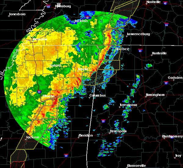 Radar Image for Severe Thunderstorms near Littleville, AL at 1/11/2020 8:16 AM CST