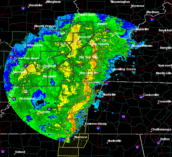 Radar Image for Severe Thunderstorms near Beaver Dam, KY at 1/11/2020 8:20 AM CST