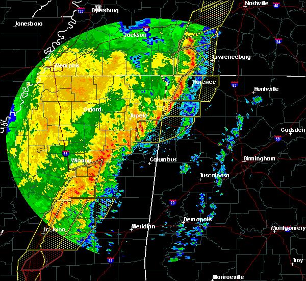 Radar Image for Severe Thunderstorms near Hamilton, AL at 1/11/2020 8:21 AM CST