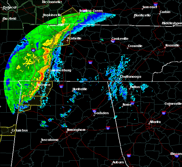Radar Image for Severe Thunderstorms near Littleville, AL at 1/11/2020 8:41 AM CST
