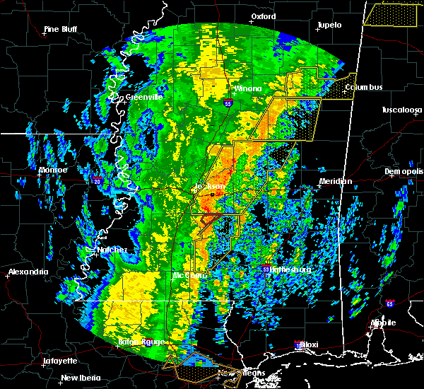 Radar Image for Severe Thunderstorms near Polkville, MS at 1/11/2020 8:52 AM CST