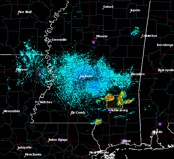 Radar Image for Severe Thunderstorms near Ellisville, MS at 6/24/2015 12:40 PM CDT
