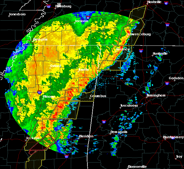 Radar Image for Severe Thunderstorms near Crawford, MS at 1/11/2020 9:00 AM CST