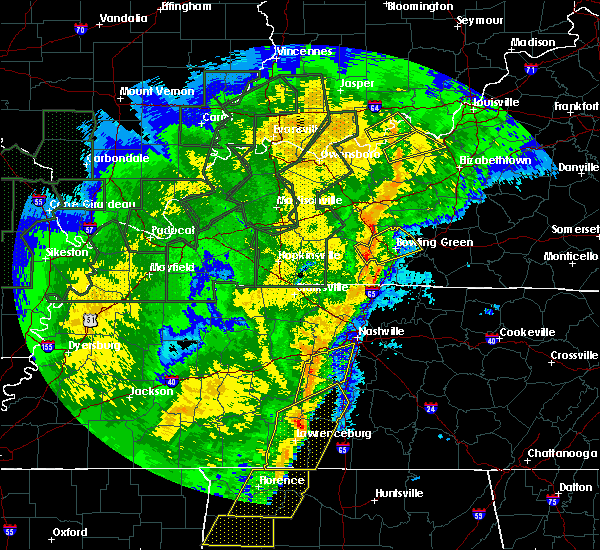 Radar Image for Severe Thunderstorms near Bowling Green, KY at 1/11/2020 9:02 AM CST