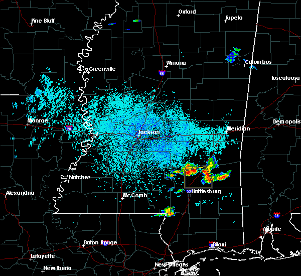 Radar Image for Severe Thunderstorms near Sandersville, MS at 6/24/2015 12:46 PM CDT