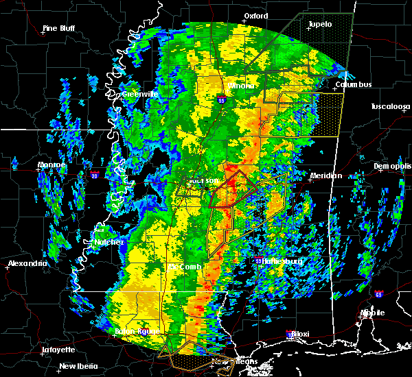 Radar Image for Severe Thunderstorms near Polkville, MS at 1/11/2020 9:21 AM CST