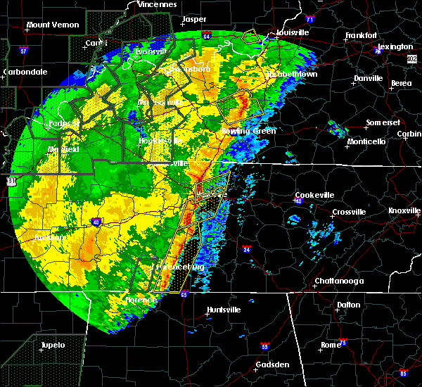 Radar Image for Severe Thunderstorms near Spring Hill, TN at 1/11/2020 9:32 AM CST