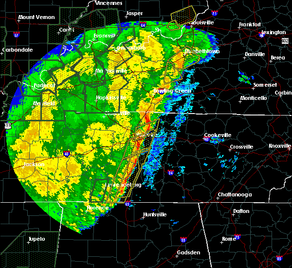 Radar Image for Severe Thunderstorms near Mount Juliet, TN at 1/11/2020 9:49 AM CST