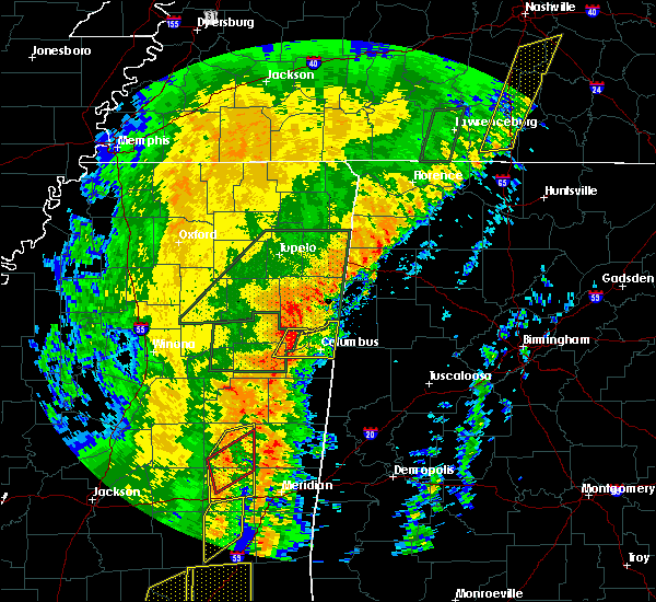 Radar Image for Severe Thunderstorms near Crawford, MS at 1/11/2020 10:04 AM CST