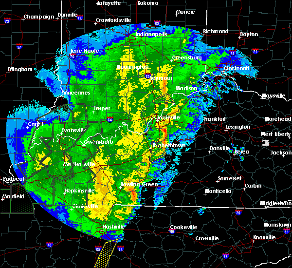 Radar Image for Severe Thunderstorms near New Washington, IN at 1/11/2020 11:10 AM EST