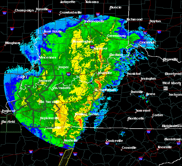 Radar Image for Severe Thunderstorms near New Haven, KY at 1/11/2020 11:12 AM EST