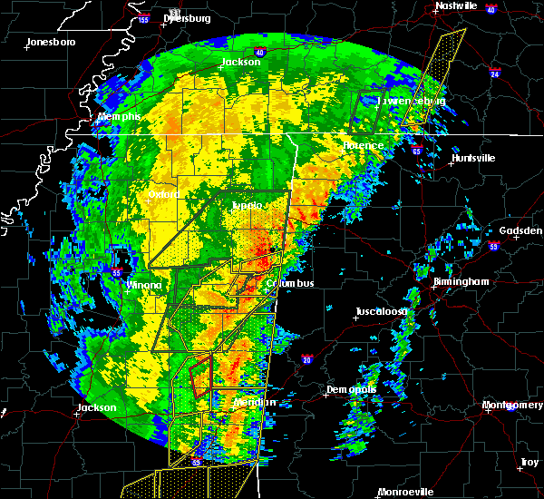 Radar Image for Severe Thunderstorms near Pickensville, AL at 1/11/2020 10:17 AM CST