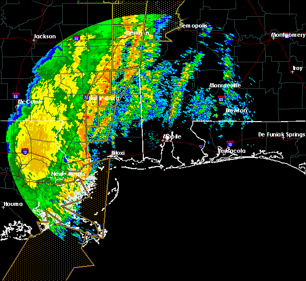 Radar Image for Severe Thunderstorms near Glendale, MS at 1/11/2020 10:44 AM CST