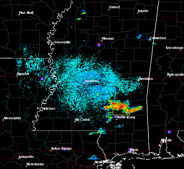 Radar Image for Severe Thunderstorms near Ellisville, MS at 6/24/2015 1:02 PM CDT