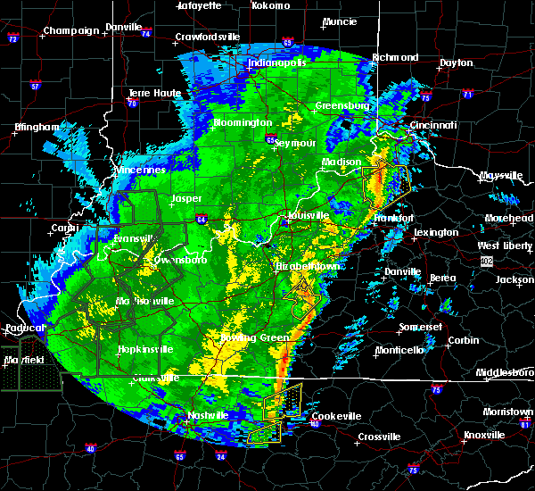 Radar Image for Severe Thunderstorms near Dry Ridge, KY at 1/11/2020 11:57 AM EST