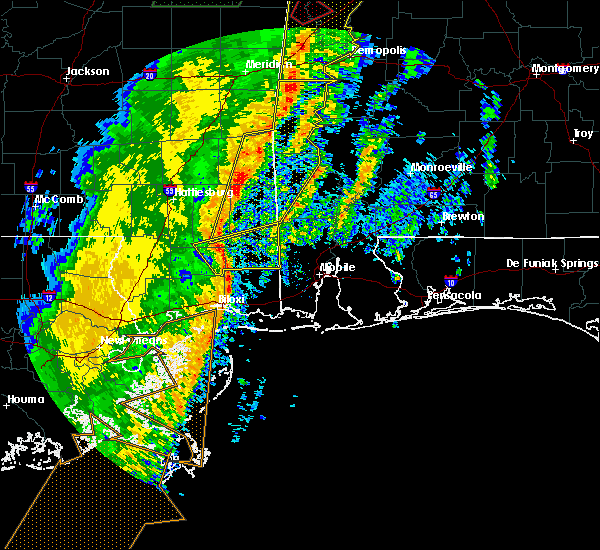 Radar Image for Severe Thunderstorms near Silas, AL at 1/11/2020 11:21 AM CST