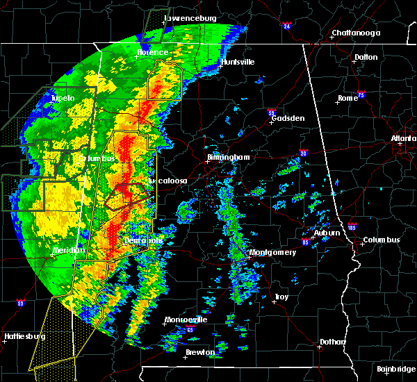 Radar Image for Severe Thunderstorms near Bellamy, AL at 1/11/2020 11:49 AM CST