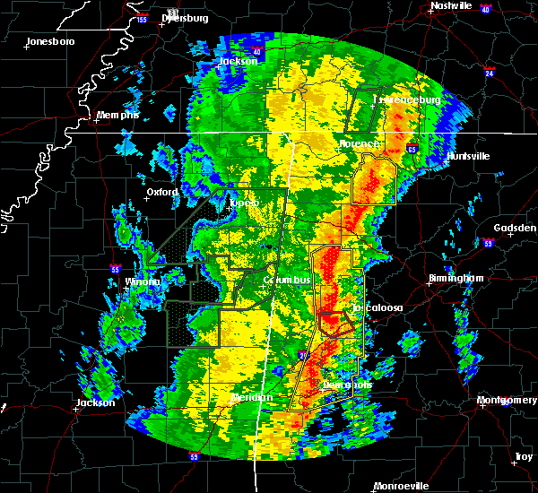 Radar Image for Severe Thunderstorms near Berry, AL at 1/11/2020 11:53 AM CST