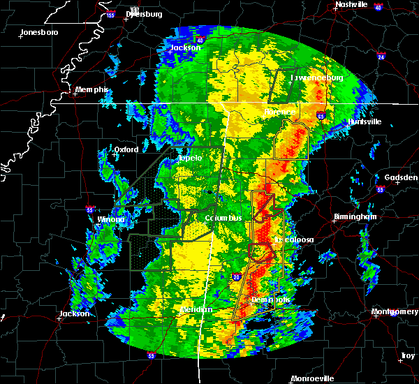 Radar Image for Severe Thunderstorms near Berry, AL at 1/11/2020 12:03 PM CST