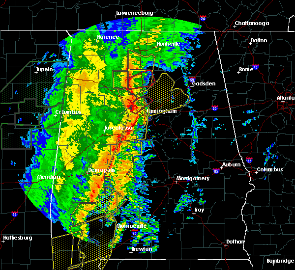 Radar Image for Severe Thunderstorms near Centreville, AL at 1/11/2020 12:46 PM CST