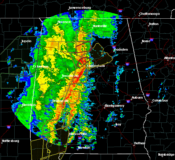 Radar Image for Severe Thunderstorms near Warrior, AL at 1/11/2020 12:50 PM CST
