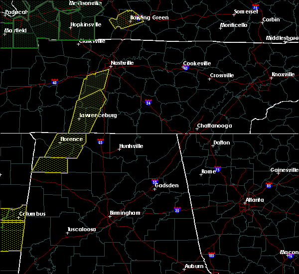 Radar Image for Severe Thunderstorms near Guntersville, AL at 1/11/2020 1:27 PM CST